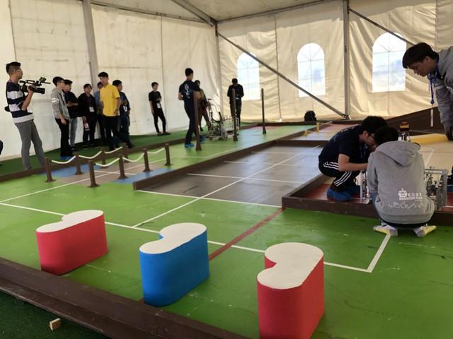 Sôi động không khí buổi thử sân tại ABU Robocon 2019 - Ảnh 4.