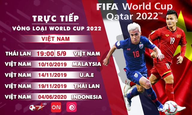 VTVcab trực tiếp 5 trận của ĐT Việt Nam tại vòng loại World Cup 2022 - Ảnh 2.