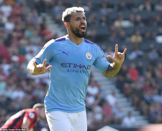 Aguero lập cú đúp, Man City vươn lên vị trí thứ 2 trên BXH Ngoại hạng Anh - Ảnh 4.