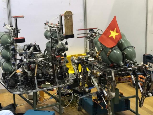 Đội tuyển Việt Nam vào tứ kết ABU Robocon 2019 - ảnh 1