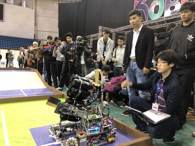 ABU Robocon 2019: Các đội tuyển trình diễn và chia sẻ kinh nghiệm chế tạo robot - Ảnh 6.