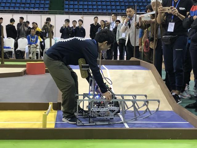 ABU Robocon 2019: Các đội tuyển trình diễn và chia sẻ kinh nghiệm chế tạo robot - Ảnh 8.