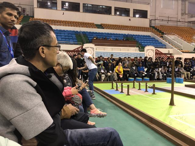 ABU Robocon 2019: Các đội tuyển trình diễn và chia sẻ kinh nghiệm chế tạo robot - Ảnh 9.