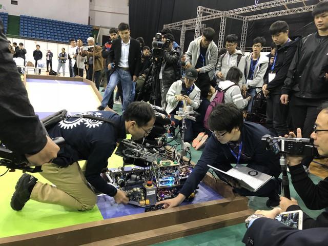 ABU Robocon 2019: Các đội tuyển trình diễn và chia sẻ kinh nghiệm chế tạo robot - Ảnh 11.