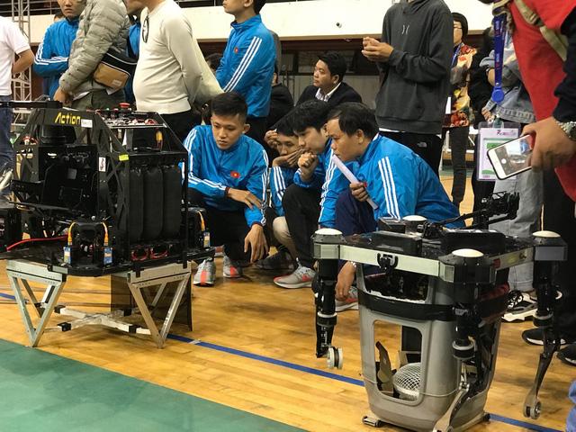 ABU Robocon 2019: Các đội tuyển trình diễn và chia sẻ kinh nghiệm chế tạo robot - Ảnh 13.