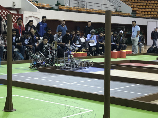 ABU Robocon 2019: Các đội tuyển trình diễn và chia sẻ kinh nghiệm chế tạo robot - Ảnh 14.