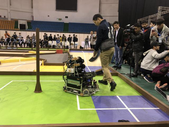 ABU Robocon 2019: Các đội tuyển trình diễn và chia sẻ kinh nghiệm chế tạo robot - Ảnh 15.