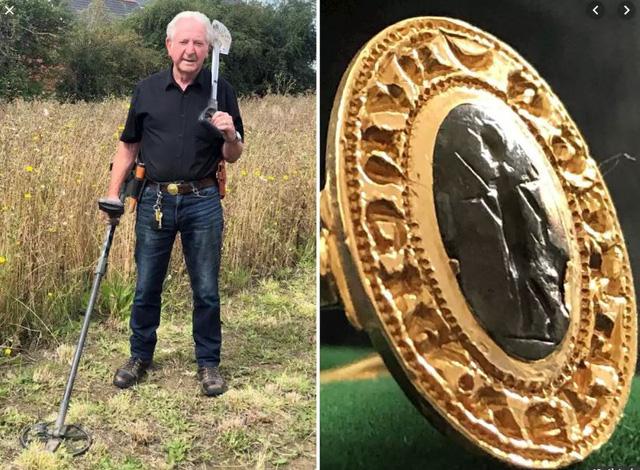 Tìm thấy chiếc nhẫn vàng cổ trị giá hơn 280 triệu đồng vì đãng trí - Ảnh 1.