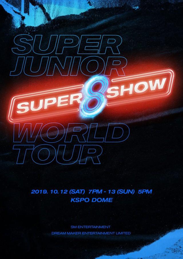 Super Junior công bố concert gồm 9 thành viên tại Seoul - Ảnh 1.