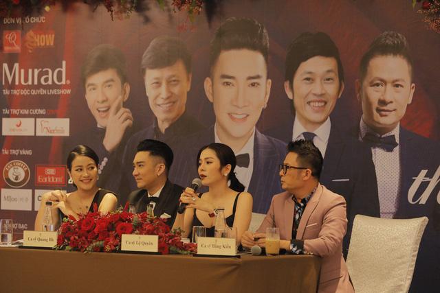 Quang Hà mời Bằng Kiều diễn hài trong liveshow tại Hà Nội? - Ảnh 1.