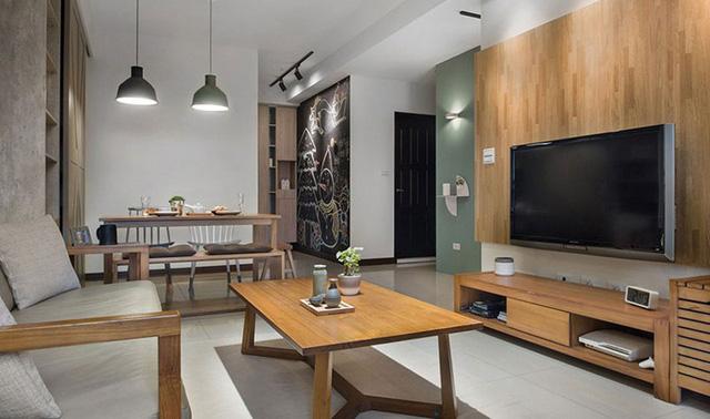 Căn hộ 2 phòng ngủ mang phong cách tối giản - Ảnh 1.