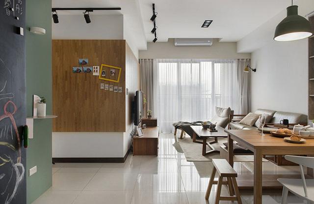 Căn hộ 2 phòng ngủ mang phong cách tối giản - Ảnh 3.