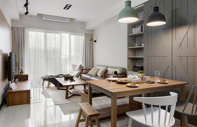 Căn hộ 2 phòng ngủ mang phong cách tối giản - Ảnh 4.