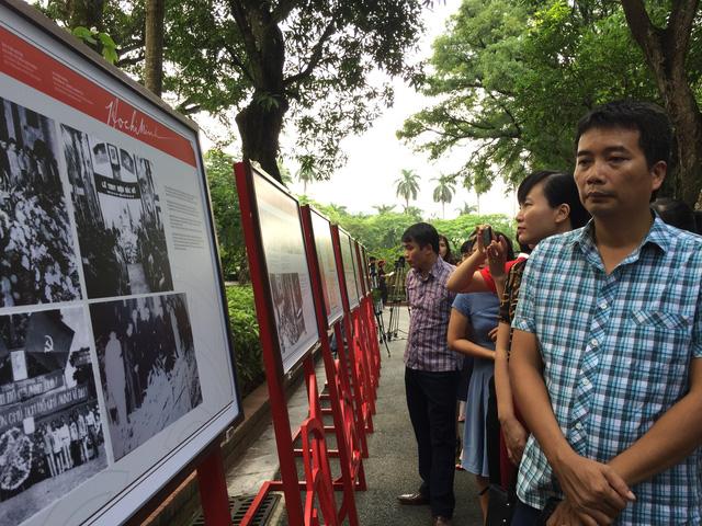 Cuộc đời và sự nghiệp Hồ Chí Minh từ tài liệu lưu trữ Việt Nam và quốc tế - Ảnh 9.