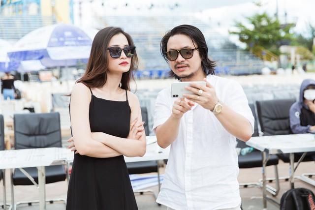 Đông Nhi - Chi Pu - Hoàng Thuỳ Linh - Ái Phương tập tổng duyệt Chung kết Miss World Việt Nam 2019 - Ảnh 8.