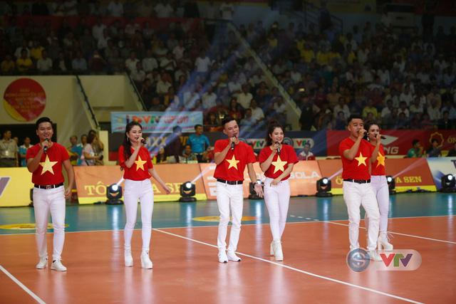 Ảnh: Những khoảnh khắc ấn tượng trong Lễ khai mạc Giải bóng chuyền nữ Quốc tế VTV Cup Tôn Hoa Sen 2019 - Ảnh 1.