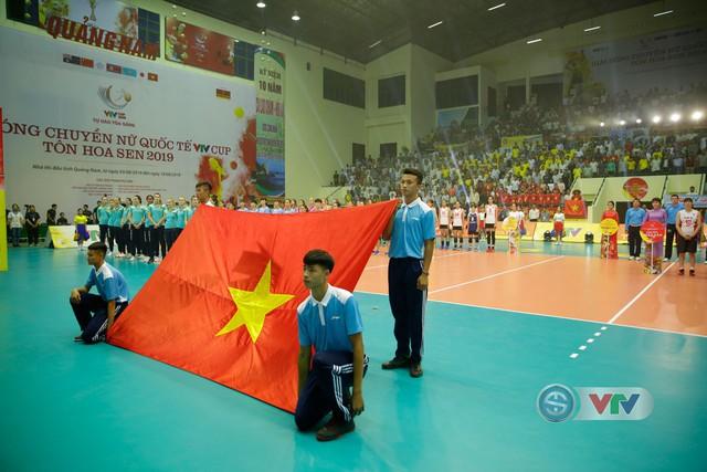 Ảnh: Những khoảnh khắc ấn tượng trong Lễ khai mạc Giải bóng chuyền nữ Quốc tế VTV Cup Tôn Hoa Sen 2019 - Ảnh 7.