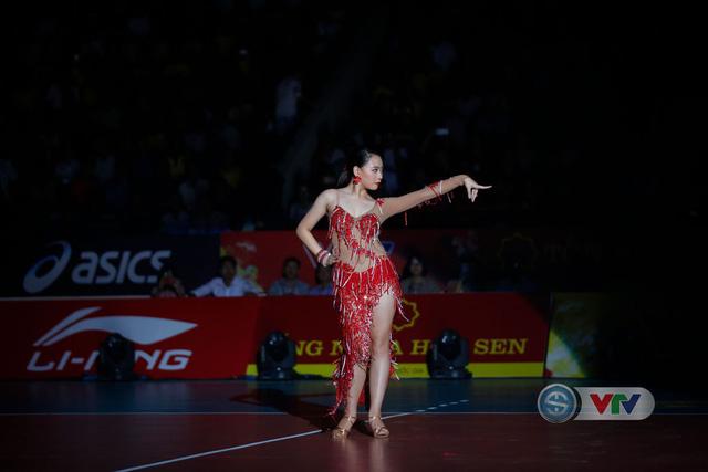 Ảnh: Những khoảnh khắc ấn tượng trong Lễ khai mạc Giải bóng chuyền nữ Quốc tế VTV Cup Tôn Hoa Sen 2019 - Ảnh 5.