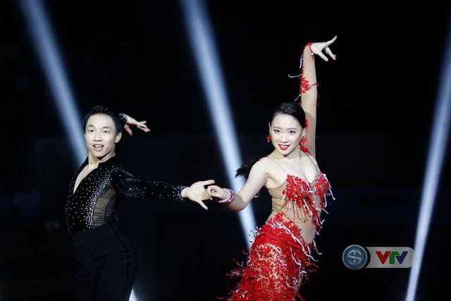 Ảnh: Những khoảnh khắc ấn tượng trong Lễ khai mạc Giải bóng chuyền nữ Quốc tế VTV Cup Tôn Hoa Sen 2019 - Ảnh 4.