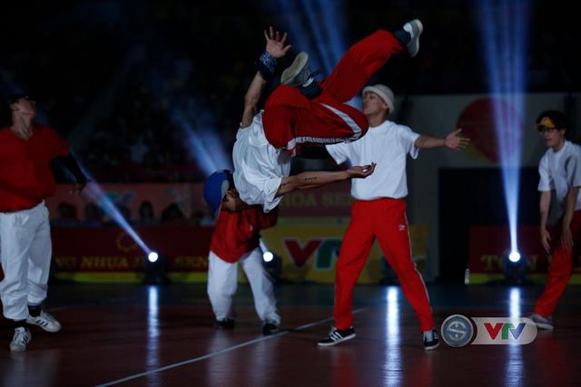 Ảnh: Những khoảnh khắc ấn tượng trong Lễ khai mạc Giải bóng chuyền nữ Quốc tế VTV Cup Tôn Hoa Sen 2019 - Ảnh 3.