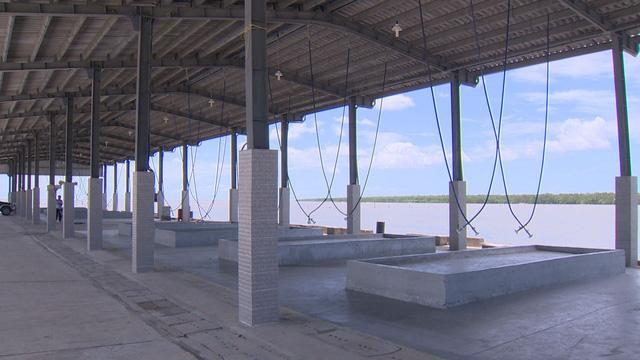 Cảng cá hàng chục tỷ ở Sóc Trăng có nguy cơ bị lãng phí - Ảnh 1.
