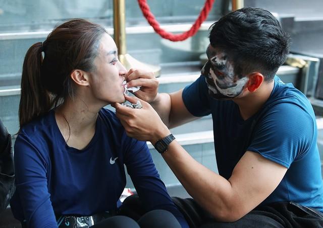 Đỗ Mỹ Linh - Xuân Tiền với những hình ảnh tình bể bình trong Cuộc đua kỳ thú 2019 - Ảnh 7.