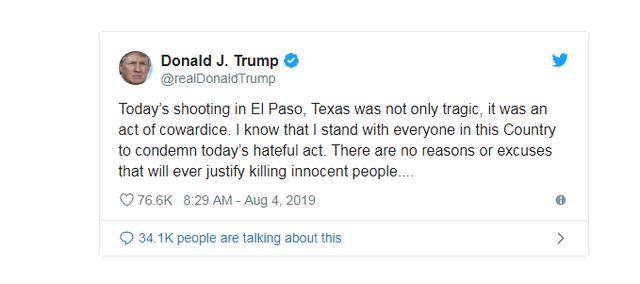 Vụ xả súng khiến ít nhất 20 người chết tại Mỹ có thể bắt nguồn từ sự thù ghét - Ảnh 3.