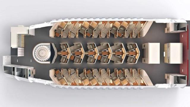 AirGo Galaxy - Ghế hạng thương gia siêu tiết kiệm không gian - Ảnh 1.