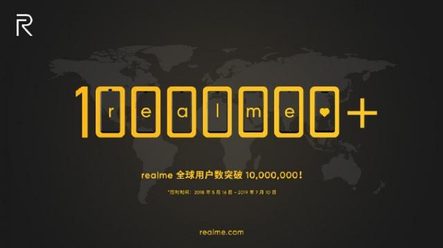 Realme cán mốc doanh số 10 triệu chiếc smartphone - Ảnh 1.