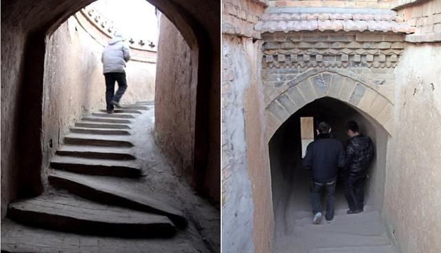 Ngôi làng cổ với những ngôi nhà nằm sâu dưới lòng đất thu hút khách tham quan - Ảnh 6.
