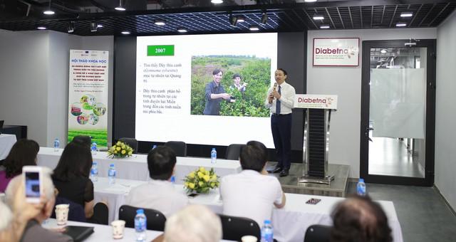 Công bố 2 hoạt chất mới giúp hạ đường huyết mạnh trong dây thìa canh Việt Nam - Ảnh 1.