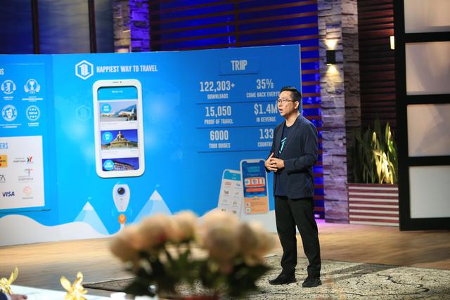 Shark Tank Việt Nam: 4 cá mập lắc đầu, một mình Shark Việt rót 500.000 USD vào ứng dụng du lịch - Ảnh 2.
