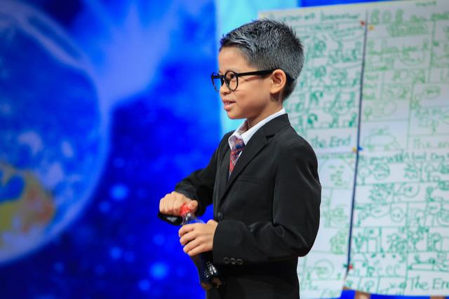 Đoan Trang, Midu khoe thành tích học đọ với sếp nhí 9 tuổi - Ảnh 3.