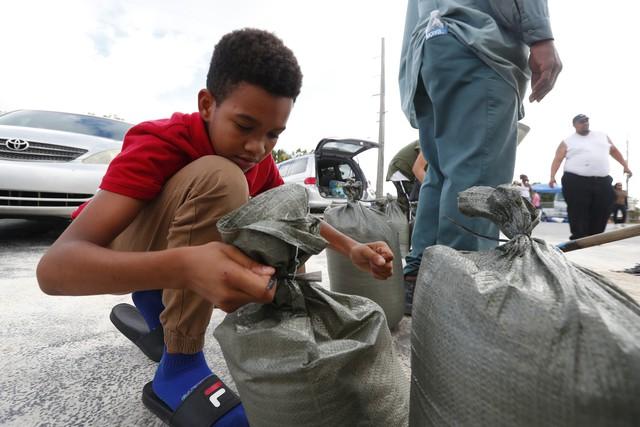Người dân Florida, Mỹ dự trữ nhu yếu phẩm phòng bão Dorian - Ảnh 2.