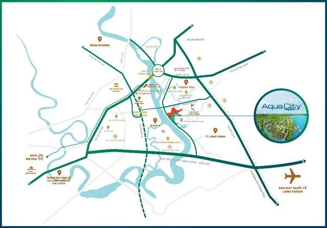 Đô thị sinh thái Aqua City: Sức mạnh kết nối ấn tượng - Ảnh 1.