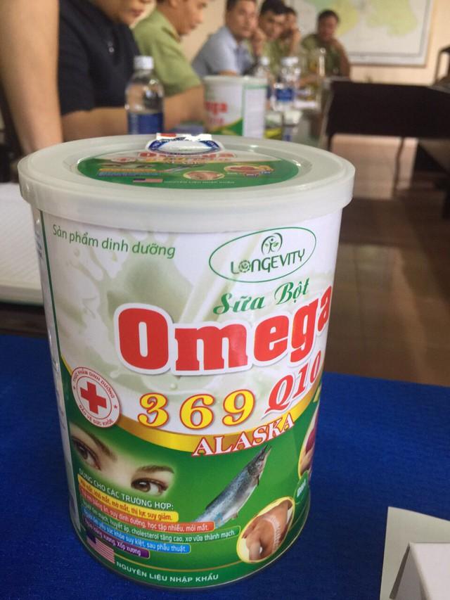 Đắk Nông: Thu giữ hơn 5.000 hộp sữa bột Omega 369 Q10 Alaska không đạt chuẩn - Ảnh 2.