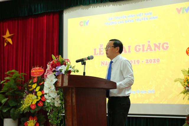 Đài THVN luôn đồng hành cùng sự phát triển của trường Cao đẳng Truyền hình - Ảnh 1.