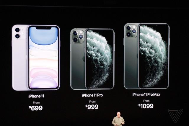Apple chính thức trình làng iPhone 11, iPhone 11 Pro và iPhone 11 Pro Max, giá từ 699 USD - Ảnh 1.