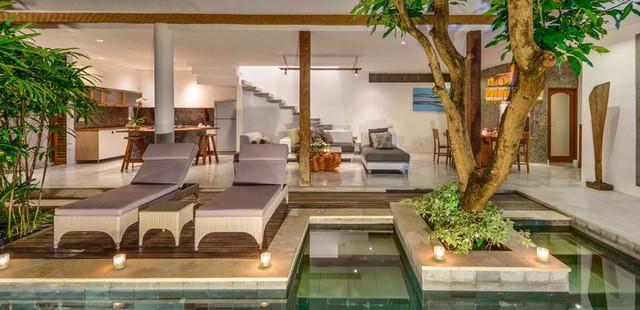 Mê mẩn với biệt thự phong cách nhiệt đới tuyệt đẹp ở Bali - Ảnh 8.