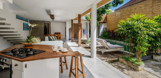 Mê mẩn với biệt thự phong cách nhiệt đới tuyệt đẹp ở Bali - Ảnh 9.