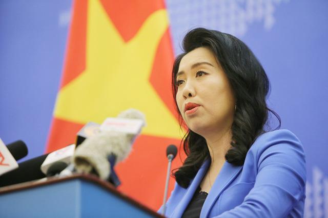 Kiên quyết phản đối nhóm tàu Hải Dương 8 của Trung Quốc vi phạm vùng biển Việt Nam - Ảnh 1.