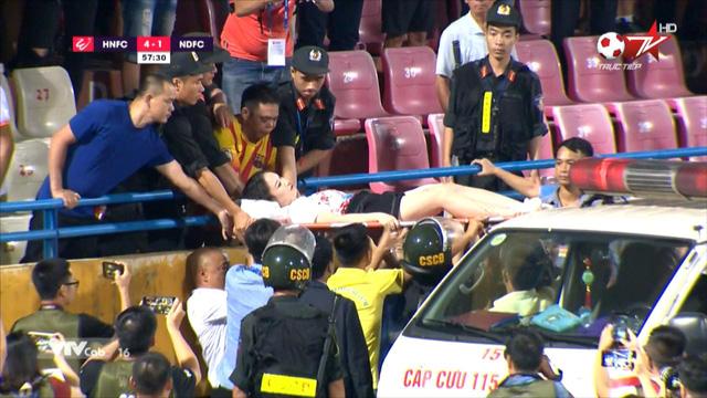 TP Hà Nội yêu cầu đảm bảo an ninh cho các trận đấu trên sân Hàng Đẫy - Ảnh 1.