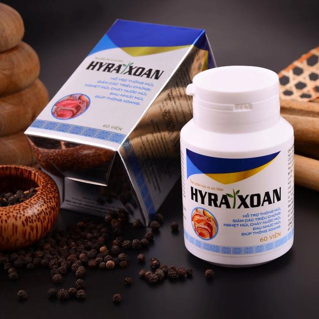 Lý do nên chọn TPBVSK Hyra Xoan là giải pháp hỗ trợ điều trị viêm xoang dai dẳng - Ảnh 1.