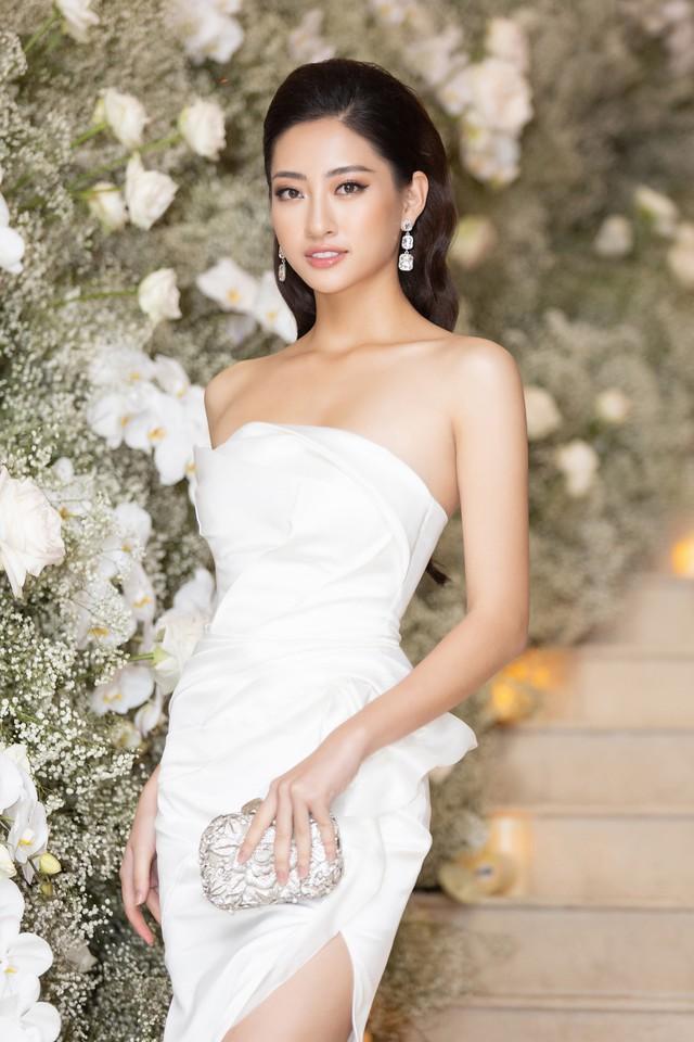 Lương Thùy Linh, Tường San, Kiều Loan đọ sắc trong váy trắng nuột nà - Ảnh 5.