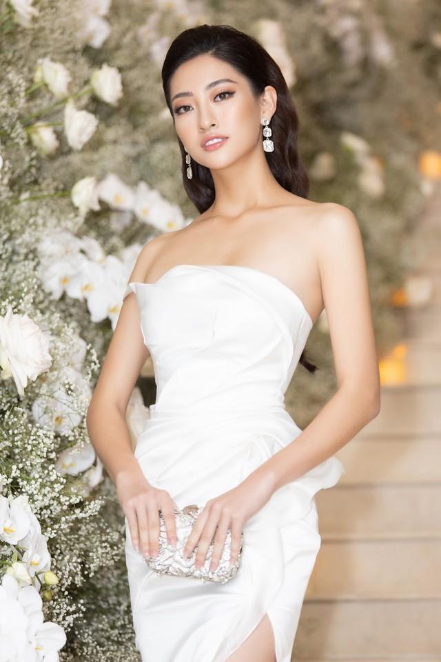 Lương Thùy Linh, Tường San, Kiều Loan đọ sắc trong váy trắng nuột nà - Ảnh 3.