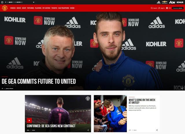 De Gea gia hạn hợp đồng, nhận lương cao nhất Man Utd - Ảnh 1.
