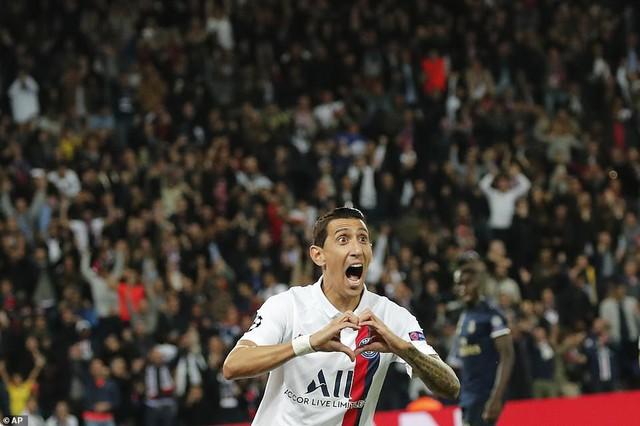 ẢNH: Di Maria toả sáng, PSG đánh bại Real Madrid - Ảnh 6.