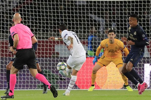ẢNH: Di Maria toả sáng, PSG đánh bại Real Madrid - Ảnh 5.