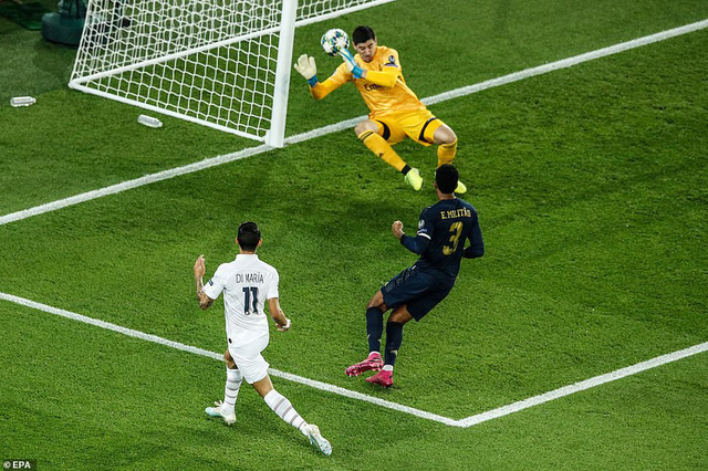 ẢNH: Di Maria toả sáng, PSG đánh bại Real Madrid - Ảnh 2.