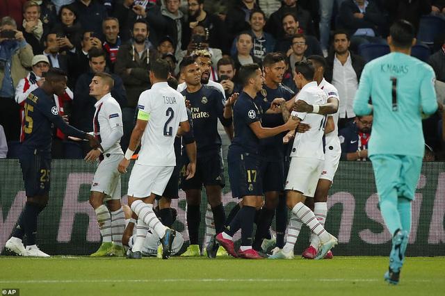ẢNH: Di Maria toả sáng, PSG đánh bại Real Madrid - Ảnh 4.